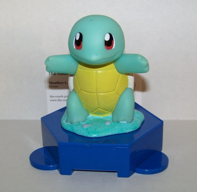 Pokemon Squirtle Coin Bank Toy Applause Limited Edition