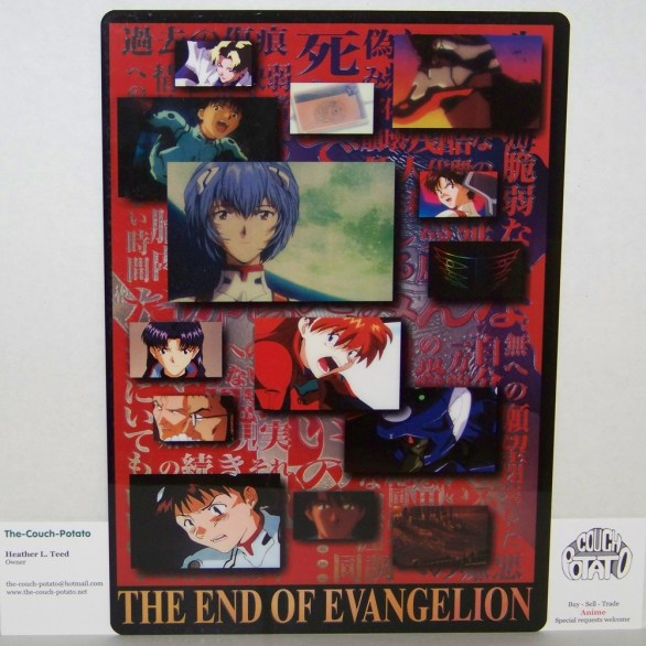 Neon Genesis Evangelion Pencil Board