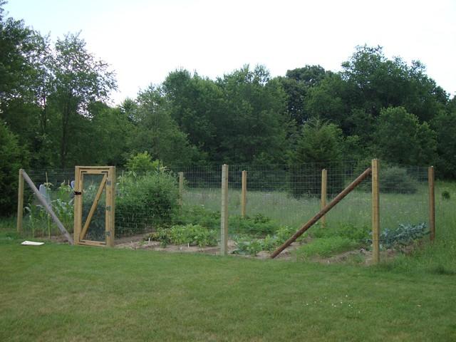How Build Vegetable Garden Fence