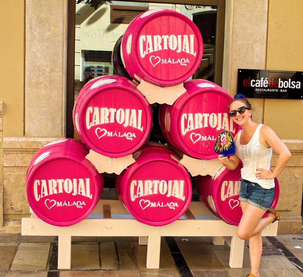 Cartojal at the feria