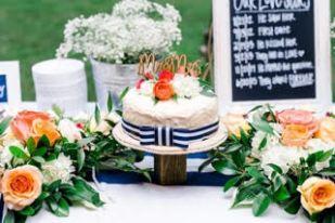 Nautical Themed Summer Wedding