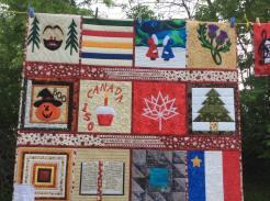 Deborah's Canada quilt # 2!
