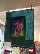 Free motion quilting by Susan!