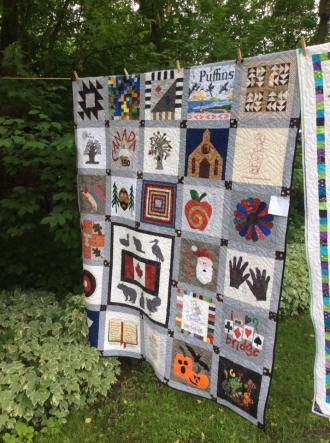 Nancy's quilt that inspired many!