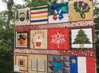 One of Deborah's Canada quilts!