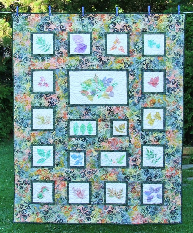 colour vie leaf prints II