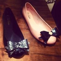 Ted Baker PVC Ballerina Pumps