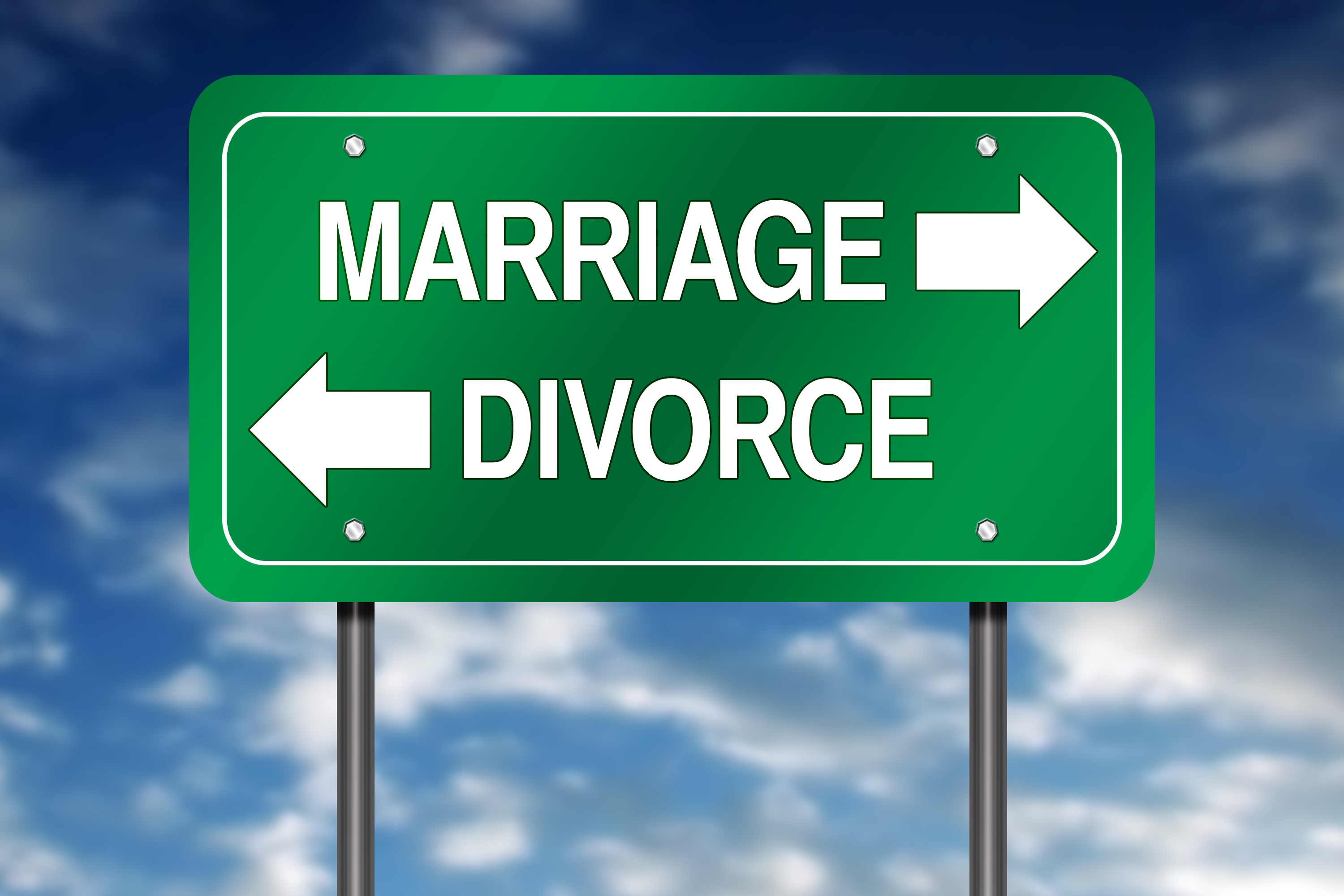 What percentage of second marriages fail