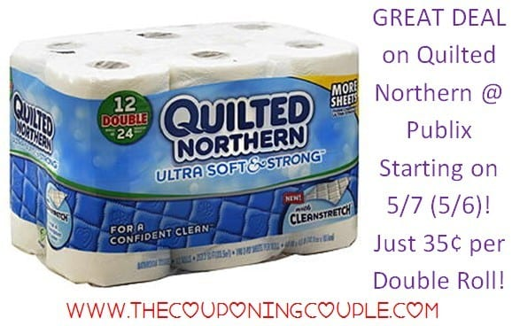 CHEAP Quilted Northern Ultra Soft & Strong @ Publix