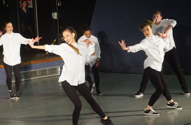Street dance: the Advanced Street team impressed the judges and audience alike. Image: Katherine Smith