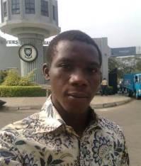 Hon. Oluyemi Sarumi, Speaker, UI Students Representative Council for 2013/2014 parliament year