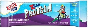 best on the go protein bar - kids clif bar