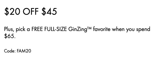 deal you can snag for the ginger body scrub!