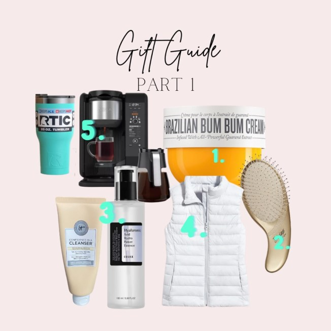 gift guides part 1!! a great mix ot items for your everyday gal.