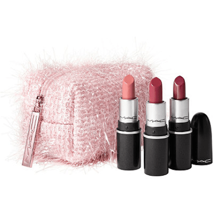 beautiful MAC lipsticks are great for a gift this season.