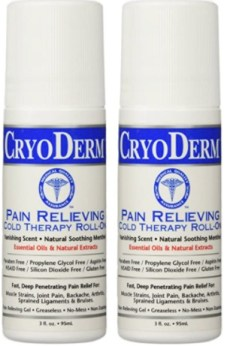Cryoderm - BEST EVER for pain relief. Five Things Friday Part 22