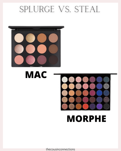 eyeshadow comparison! Mac vs Morphe!