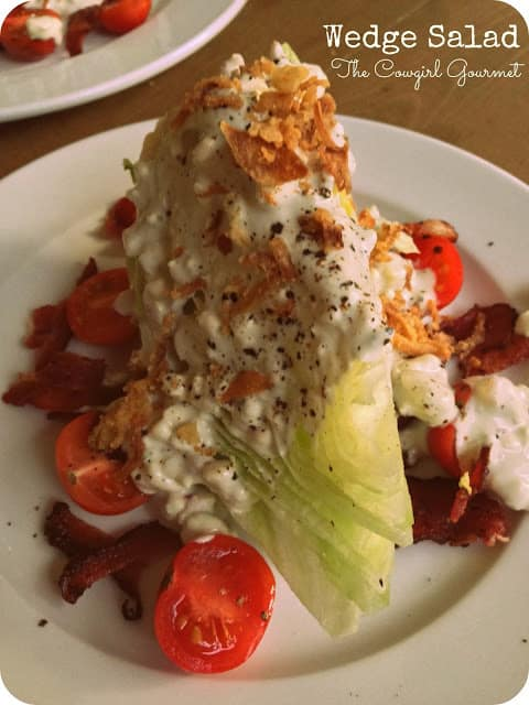 the wedge salad the palm