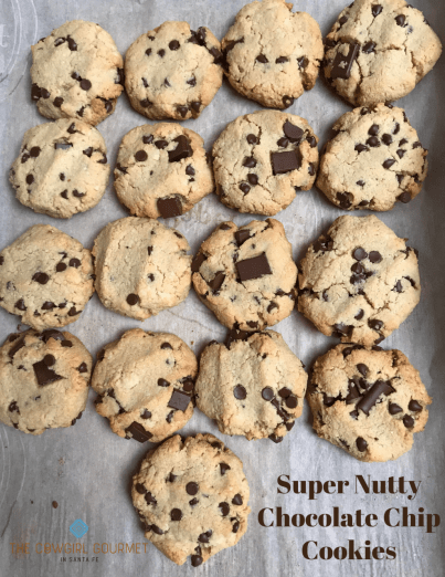 Super Nutty Chocolate Chip Cookies