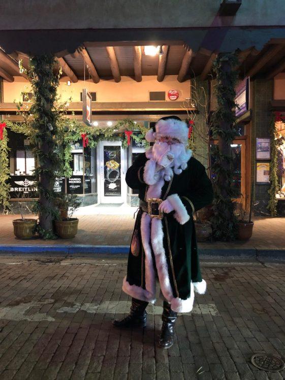 Santa in the Plaza 2018