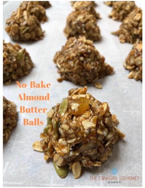 No-Bake Almond Balls