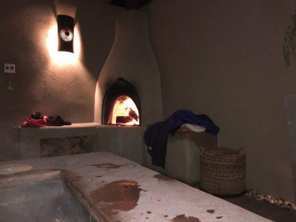 Sunrise Springs hot tub
