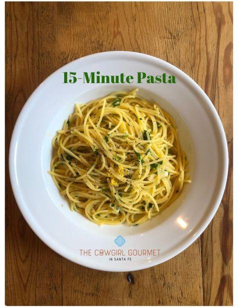 15-minute pasta