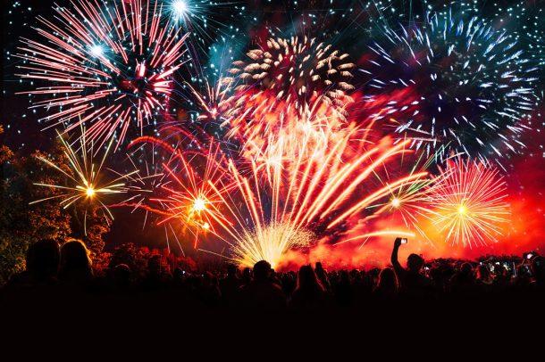 Santa Fe fireworks