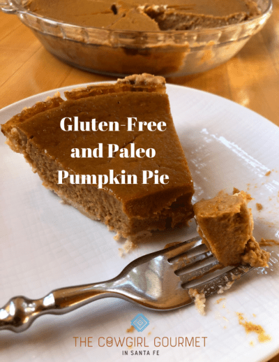 Gluten-free and Paleo Pumpkin Pie