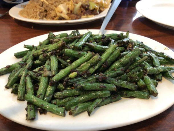 Chopstix green beans