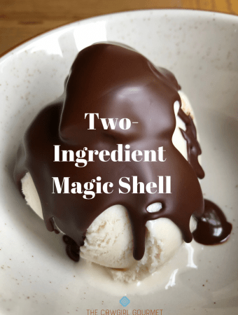 Two-Ingredient Magic Shell