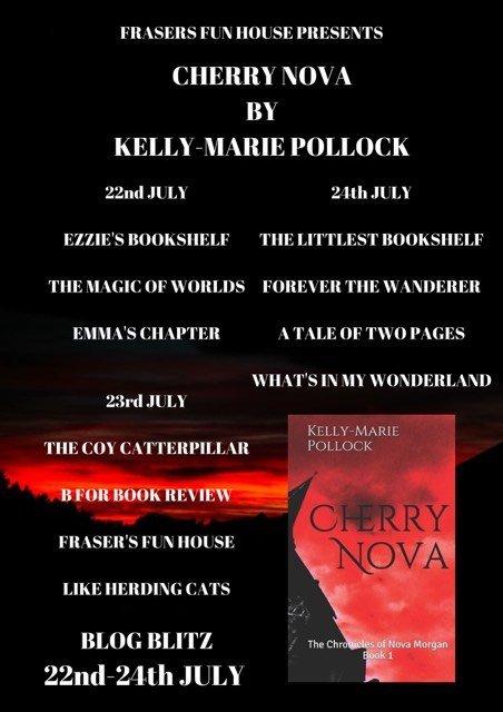 cherry nova participant banner3165735024337228603. 1 - Excerpt: Cherry Nova by Kelly-Marie Pollock @FrasersFunHouse @AuthorKMPollock