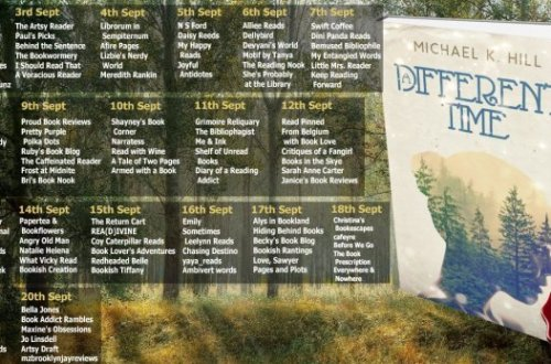lifebtnew2 1 - Ultimate Blog Tour: Different Time By Micheal. K. Hill