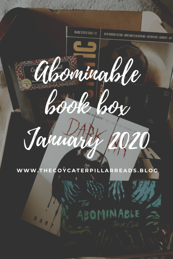 Abominable book box January 2020 683x1024 - The abominable Book Box - January 2020
