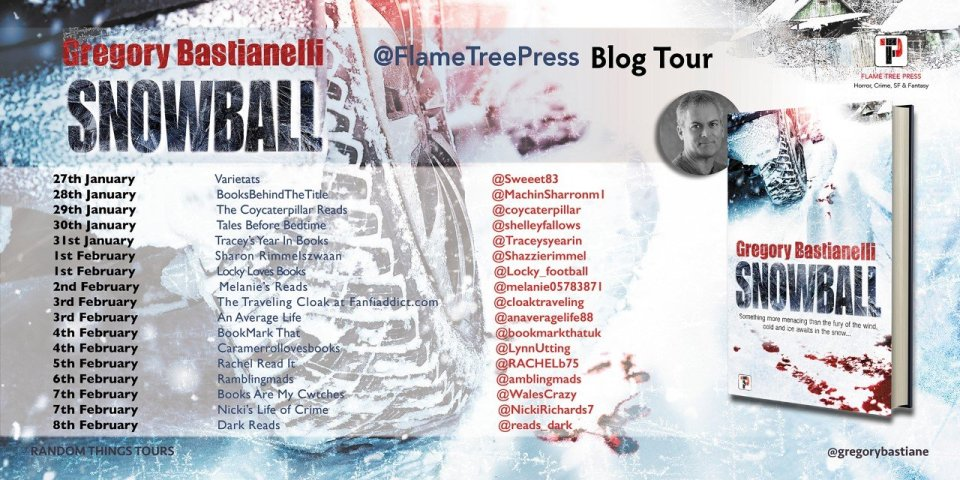 Snowball BT Poster - Blog Tour: Snowball by Gregory Bastialnelli