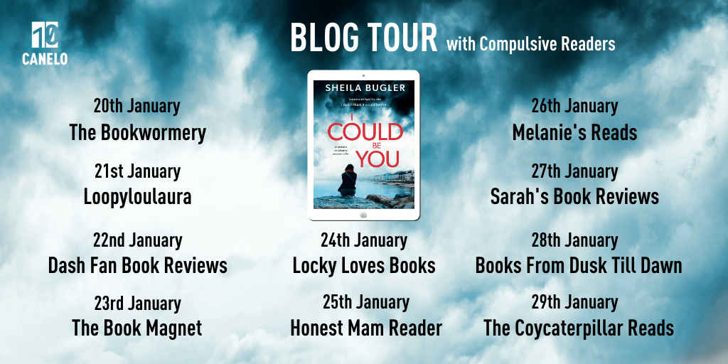 The Bookwormery 2 - Blog Tour: I Could Be You by Shelia Bugler