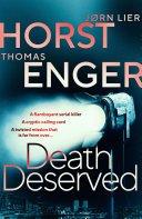 death deserved by thomas engerjorn lier horst - Blog Tour: Death Deserved by Jorn Lier Horst & Thomas Enger