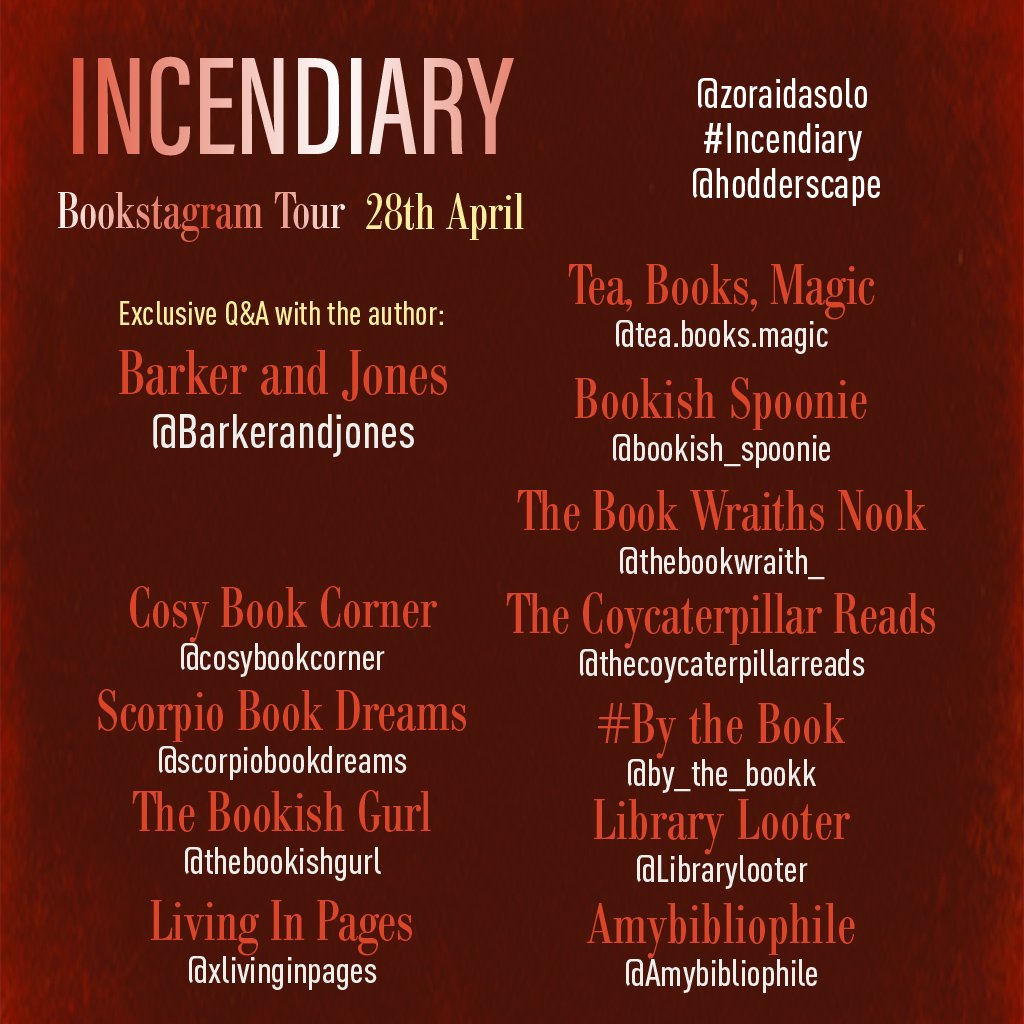 Incendiary socials 28 IG - Blog Tour: Incendiary (Hollow Crown #1) by Zoraida Cordova
