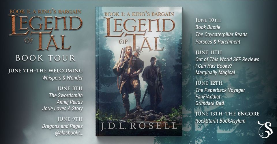 rK37fa1A - Blog Tour| A King's Bargain (Legend of Tal) By J.D.L. Rosell