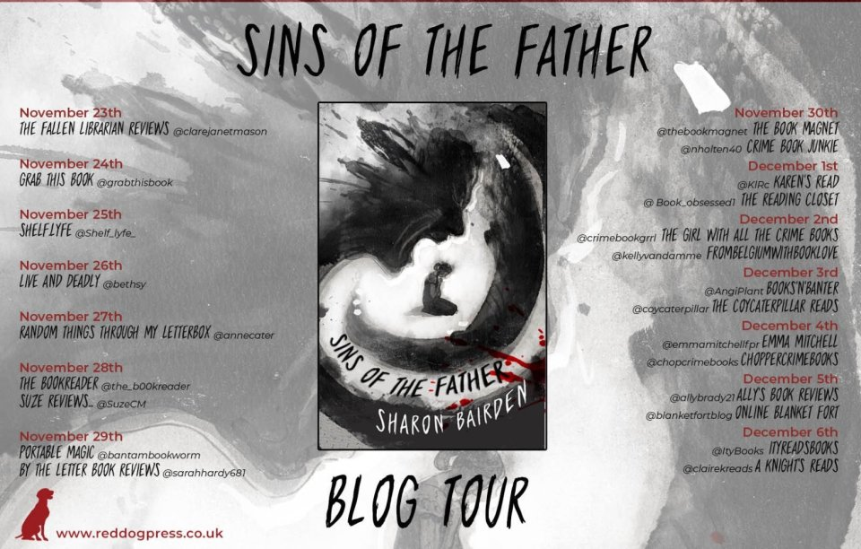 img 3025 - Sins of the Father by Sharon Bairden | Blog Tour Review