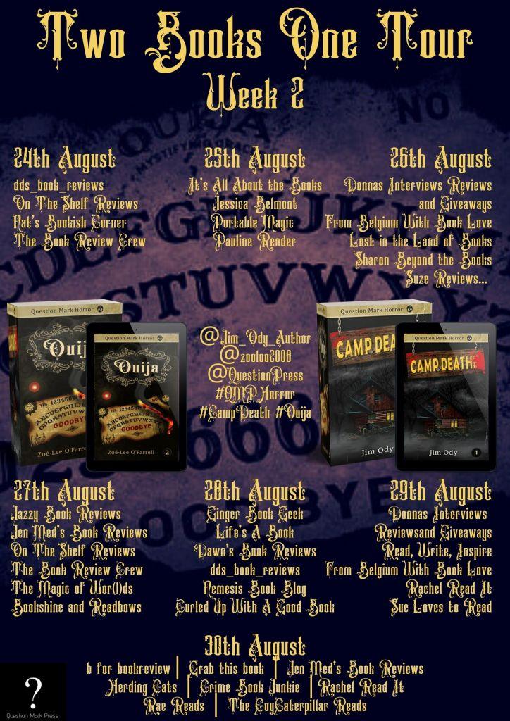 QMP Week 2 724x1024 - Blog Tour: Ouija by Zoe-Lee O'Farrell