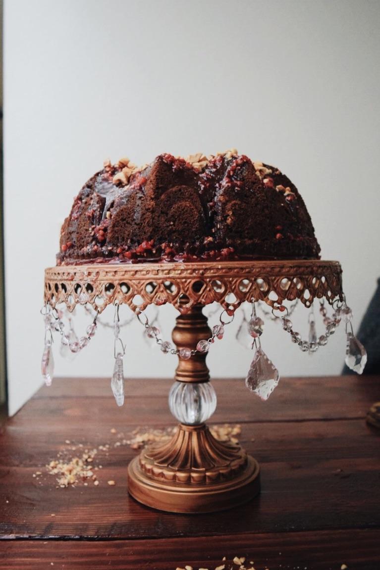 Chocolate Hazelnut Bundt Cake The Cozie