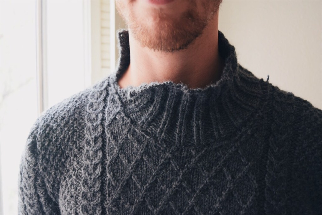 "Knitting Review: Brooklyn Tweed ""Hugo"" Cabled Pullover"
