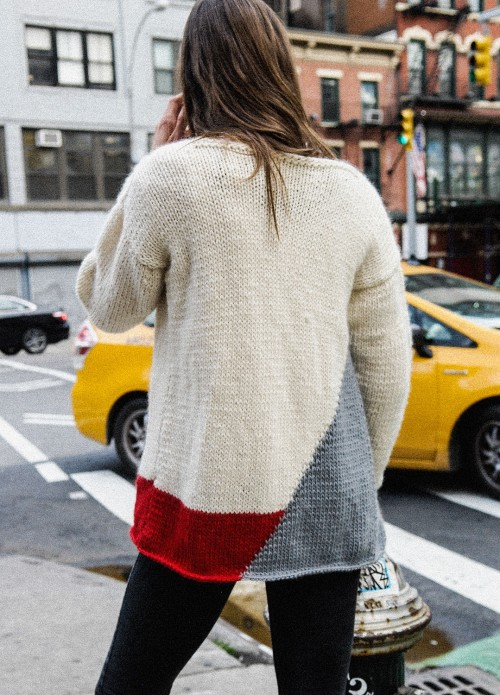 """Knitting Review: """"Whistler Cardigan"""" by We Are Knitters The Cozie"""