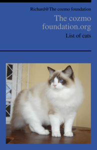 List of Cats ebook cover