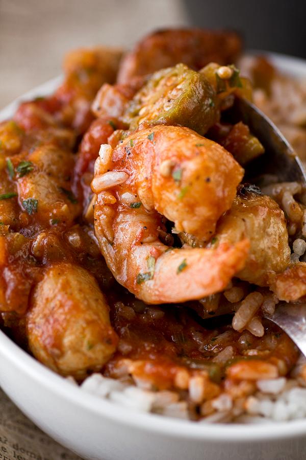 Gumbo and Jumbalaya in one dish