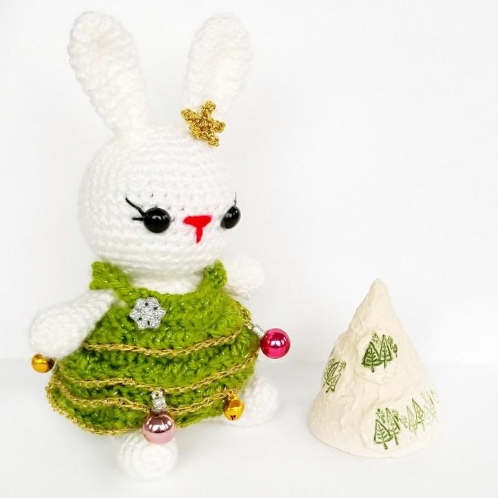 Christmas Tree Bunny