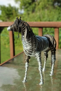 Pinto Horse (And Dog) 018