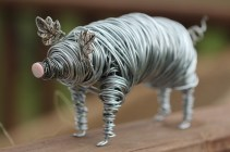 Pig Wire Sculpture 009 - Copy