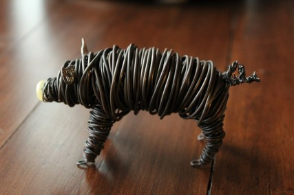 Commission Pig Sculpture (2 pig sculpts.) 012 - Copy